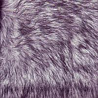 Faux Fur Shades of Grey Wolf