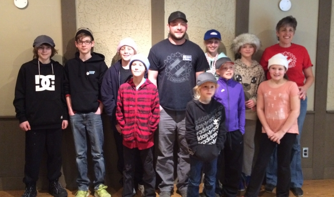 Summerland BC's first annual One Day Junior Bonspiel