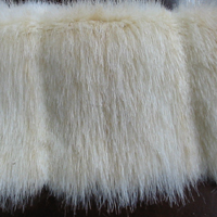 Faux Fur Pelted Blonde Mink