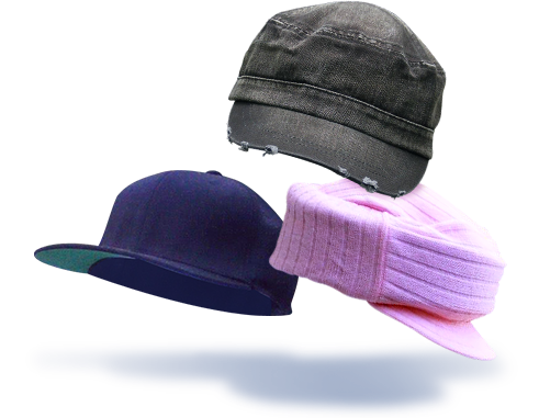 ice halo hats